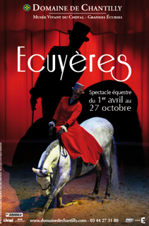 chantilly affiche ecuyères