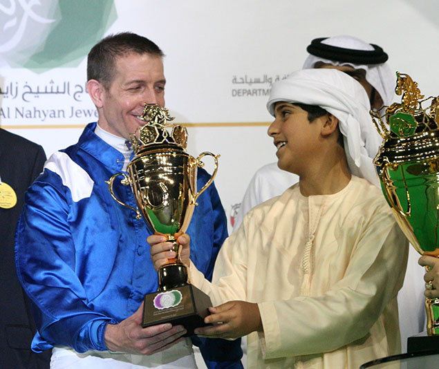 abu dhabi 2017 Jim Crowley