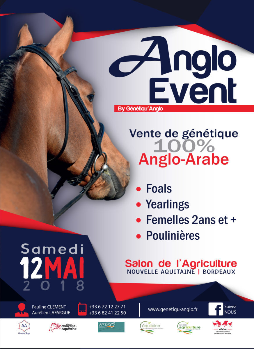 Affiche Anglo Event 2018