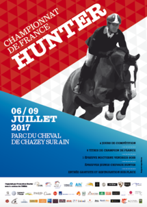 Affiche championnat de France Hunter 2017 largeP