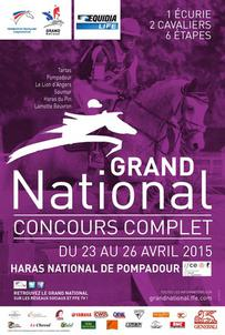affiche grand national pompadour 2015 largeP