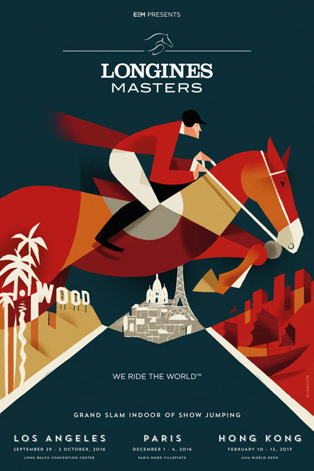 affiche longines masters