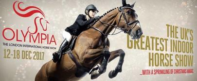 Affiche Olympia Horse Show Londres 2017 largeL