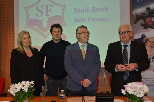 AG SF- Danièle Mars, Michel Guiot, Pascal Cadiou, Yves Chauvin