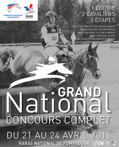 CCE Grand National Pompadour largeP