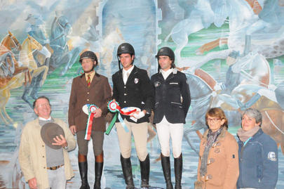 Championnat régional Hunter Samur 2015- Podium Amateur Elite largeL