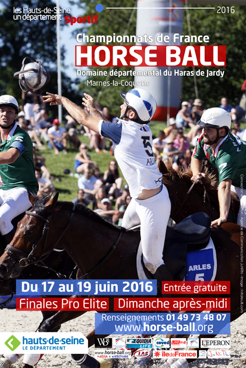 horse ball affiche jardy 2016