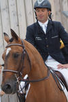 Laurent Goffinet et Flipper d'Elle au Normandie Horse Day mediumP