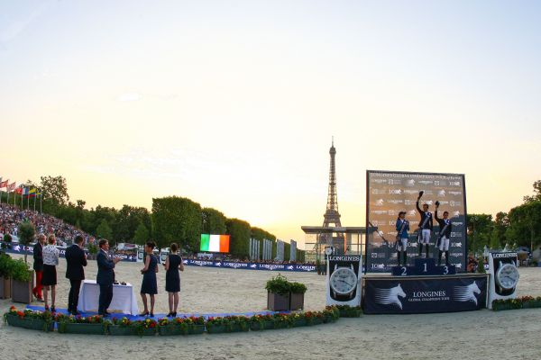 Le Global Champions Tour prend place à Paris