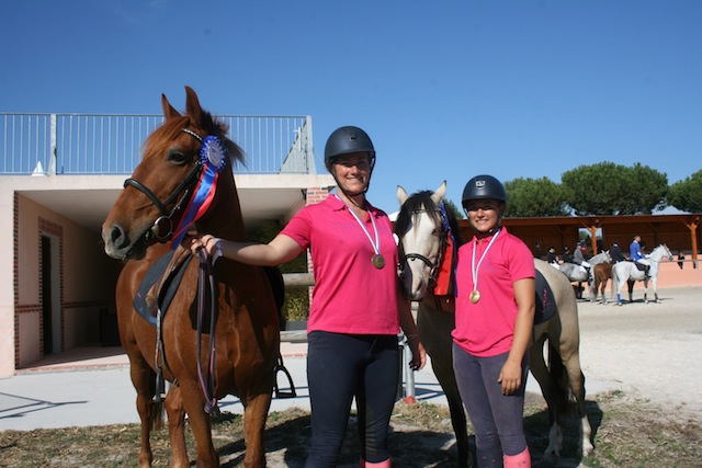 National Enseignnats 2018 Pony Games Laura Pirot et Caroline de Vallois