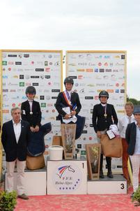 Podium Am 1 Championnat de France Hunter 2017 largeP
