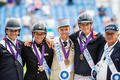 Podium equipe de France complet Tryon 2018 smallL
