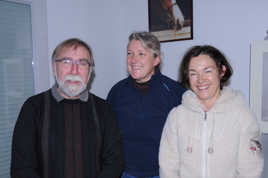 Roland Terrien, Florence Chalopin et Pascale Sizaire