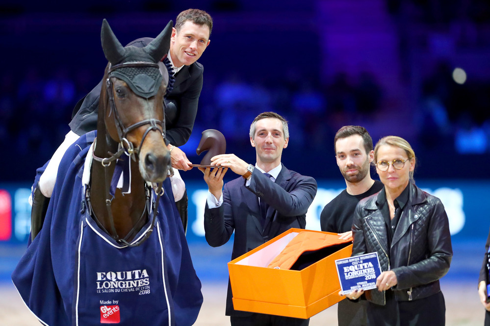 Scott Brash et Hello Mr President