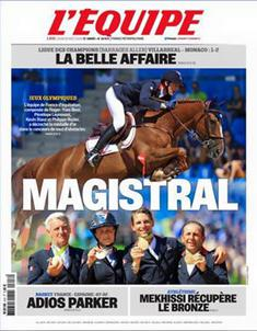 Une Equipe or cso largeP